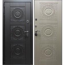 Железная дверь Богема Беленый дуб