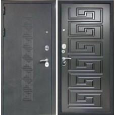 Заводские  двери  Греция / Черный бархат