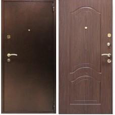 Заводские двери Лайт Этюд 3К - орех тисненый