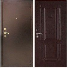 Заводские  двери  Триумф  -  медь/венге