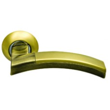 Дверная ручка  SILLUR 132 S.GOLD/BR