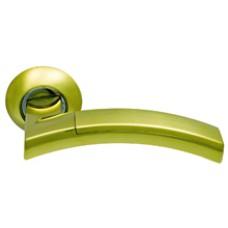 Дверная ручка  SILLUR 132 S.GOLD/P.GOLD