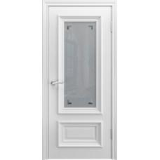 Люксор B 1 Белая эмаль со стеклом