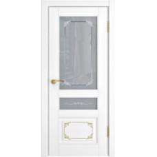 Люксор L 3 Белая эмаль со стеклом