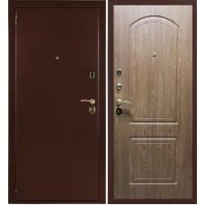 Железная дверь Оптим Дуб светлый