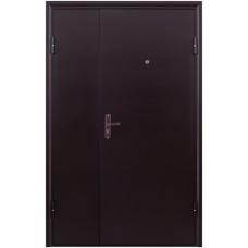 Двухстворчатая Тамбурная Дверь Тамбур - 1 метал/метал