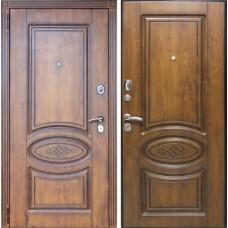 Металлическая дверь Орион Винорит Golden патина
