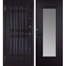 Дверь Кватро зеркало Венге