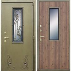 АСД Дверь с окном и ковкой