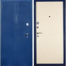 Дверная  Линия DL  20 перфорация+волна Синий муар