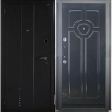 "Дверная  Линия DL 1 волна+молдинг ""Коричневый муар"""