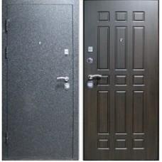 Заводские двери Лайт - черный бархат/венге