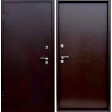 Заводские  двери  Сибирь (с терморазрывом)